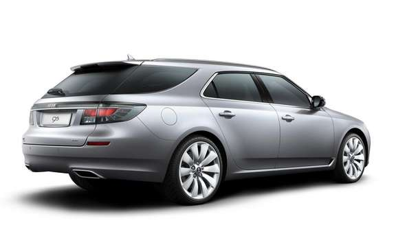 Saab 9-5 SportCombi: Available from September 2011 picture #2