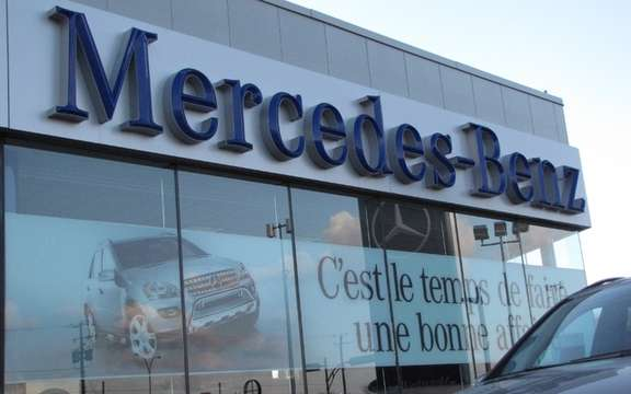 Mercedes-Benz Canada ranks head of the Dealer Satisfaction Index
