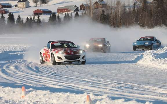 Mazda MX-5 Ice Race 2011 in Sweden picture #2
