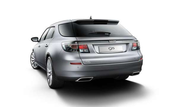 Saab 9-5 SportCombi: Available from September 2011 picture #3