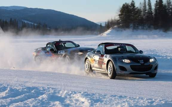 Mazda MX-5 Ice Race 2011 in Sweden picture #3