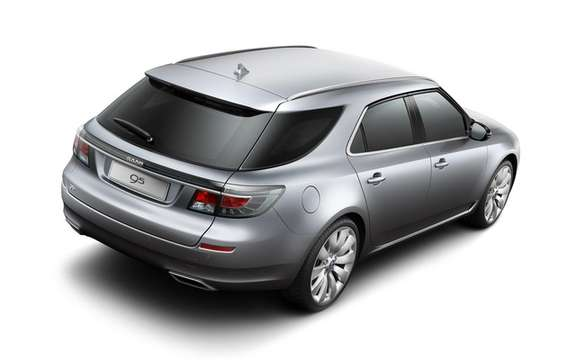Saab 9-5 SportCombi: Available from September 2011 picture #4