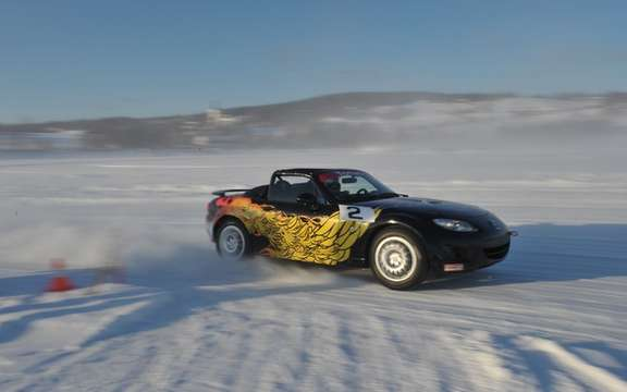Mazda MX-5 Ice Race 2011 in Sweden picture #4