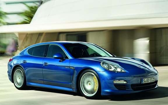 Porsche Panamera S Hybrid: Performance and Energy Efficiency picture #6