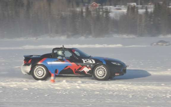 Mazda MX-5 Ice Race 2011 in Sweden picture #5