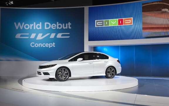 Honda Civic 2012: Two more months to wait picture #3