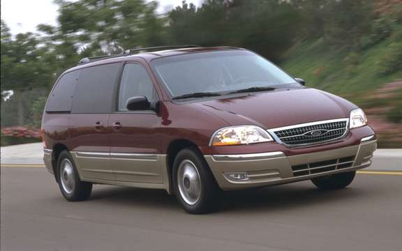 Ford Windstar 1999 2003 A new MENTIONED