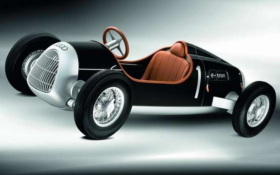 Auto Union Type C e-Tron: A toy like no other