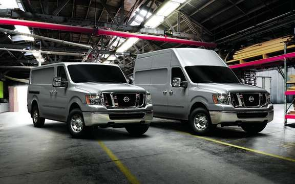 Nissan NV 2012: Start of production
