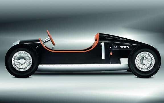 Auto Union Type C e-Tron: A toy like no other picture #2