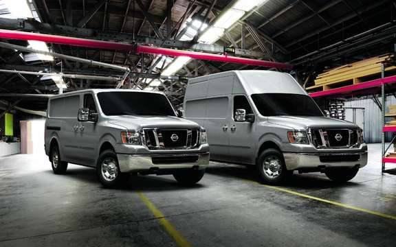 Nissan NV 2012: The prices Ads