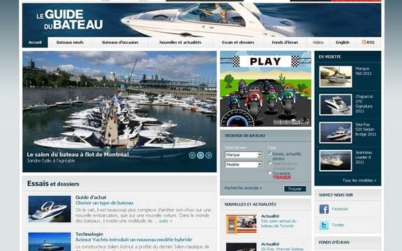 NEW: Websites Guide the boat and The Boat Guide