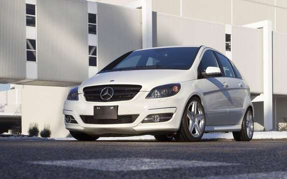 Mercedes-Benz B55: With 388 horses under the hood