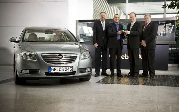 Opel Insignia: encouraging sign for the Buick Regal