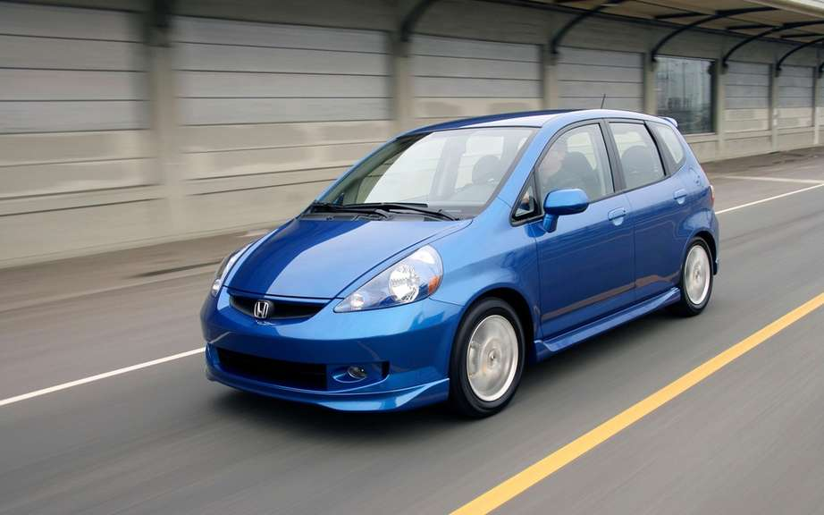 Honda Fit 2007 and 2008: Reminder 1.35 million cars