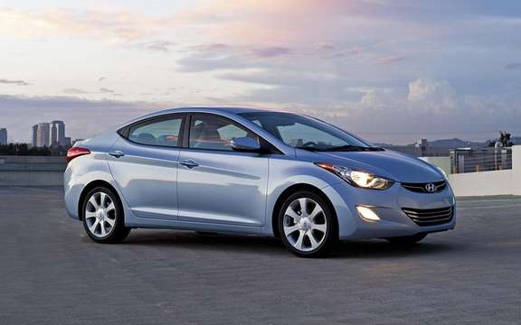 Hyundai unveiled the pricing of the new 2011 Elantra