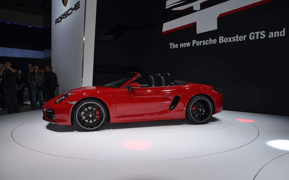 The Boxster and Cayman GTS Unveiled picture #7