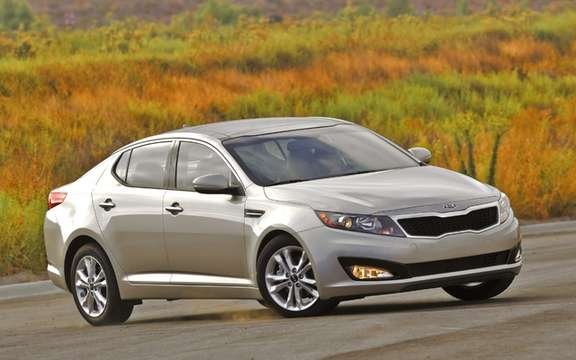Kia Optima 2011: Named