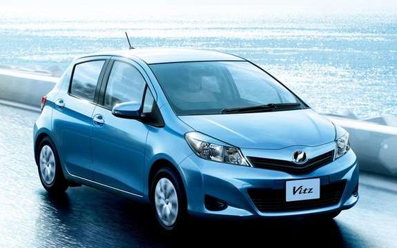 Toyota Vitz 2012: With us is called Yaris
