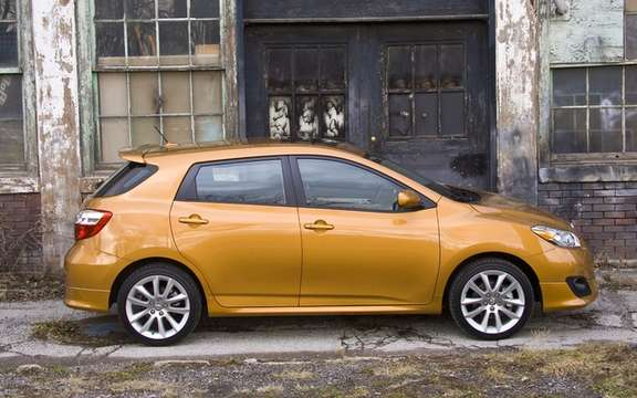 Toyota Corolla and Matrix 2011 Price respective departing from $ 15,450 and $ 16,715