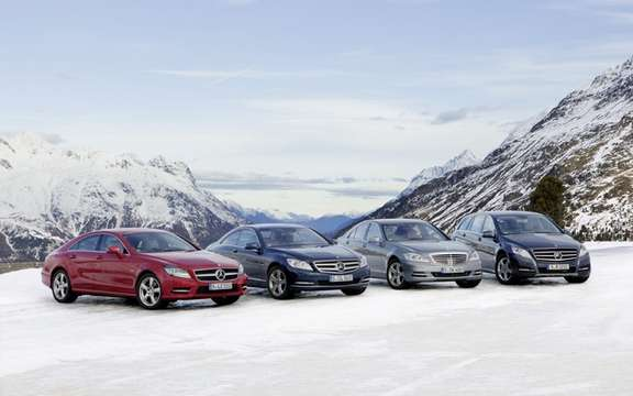 Mercedes-Benz Canada: Progamme 2011 sessions winter driving picture #4