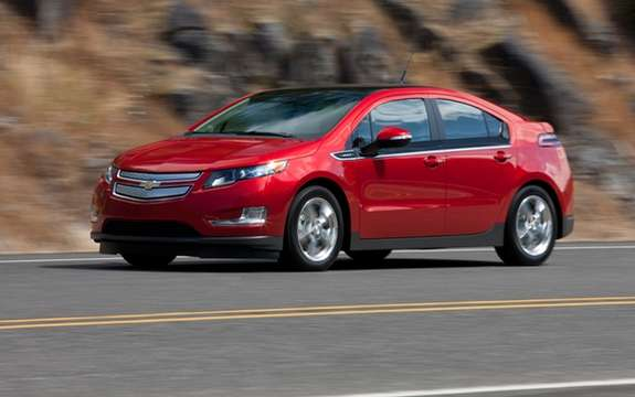 2012 Chevrolet Volt: Unveiling steps for Canada