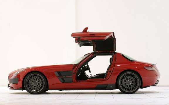 Mercedes-Benz SLS AMG Brabus PREPARED BY picture #2