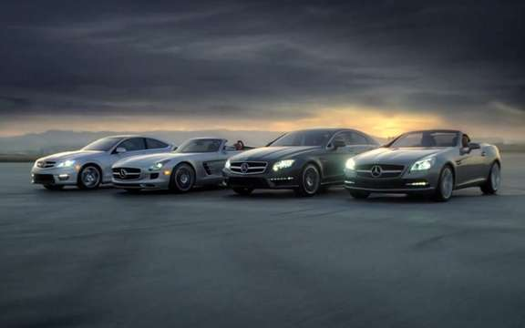Mercedes-Benz SLS AMG Roadster: A short first Super Bowl