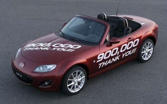 Mazda MX-5: A new Guinness record