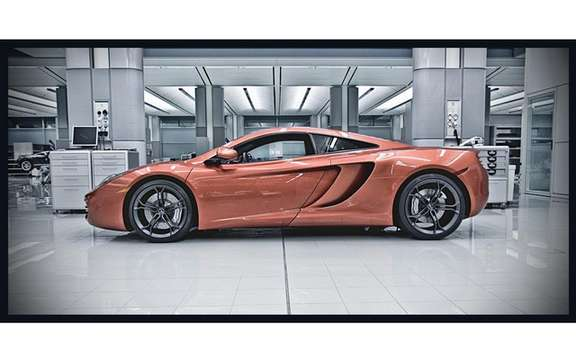 McLaren MP4 12C: Pure pleasure for Lewis Hamilton and Jenson Button