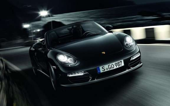 Porsche Boxster S Black Edition: Available in only 987 copies
