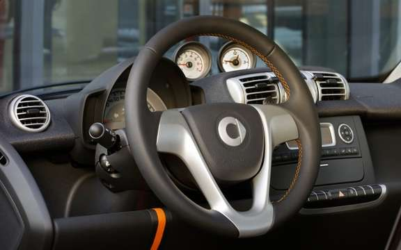 smart fortwo 2011: Special Serie nightorange picture #2