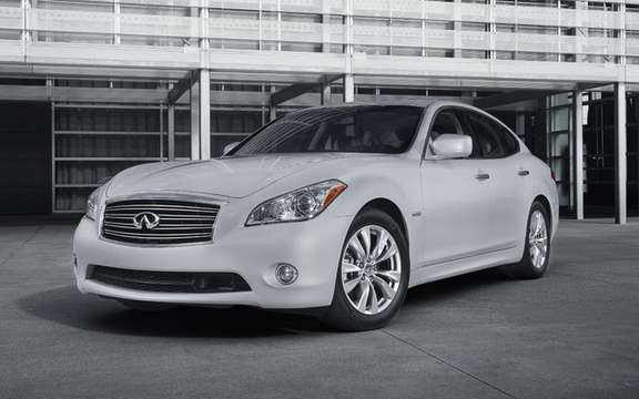 Infiniti M Hybrid 2012: Available from spring 2011