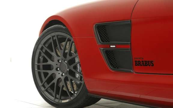 Mercedes-Benz SLS AMG Brabus PREPARED BY picture #7