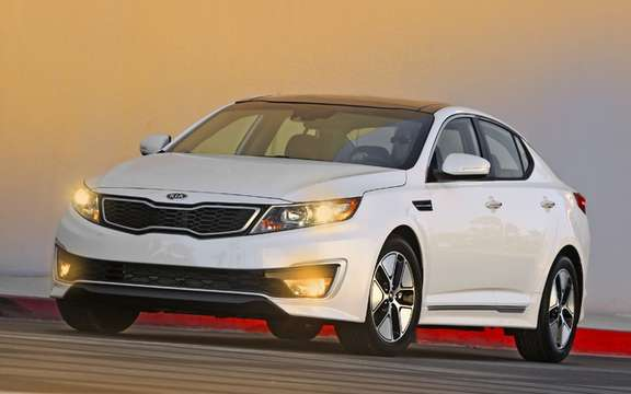 Kia Optima Hybrid: A lithium-polymer picture #1