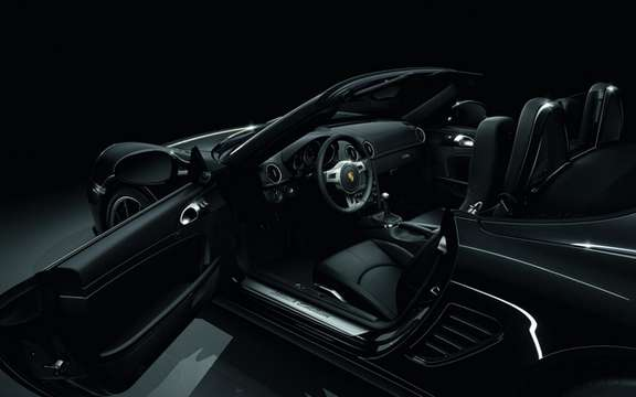 Porsche Boxster S Black Edition: Available in only 987 copies picture #5