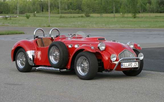 Allard J2X MK II: Quebec sold in Europe