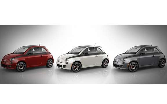 Chrysler announced the sale of the Fiat 500 Special Edition