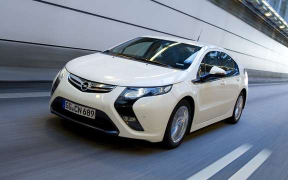 Opel Ampera: The European Volt offered 42 900 euros