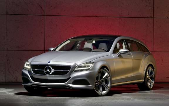 Mercedes-Benz CLS Shooting Brake Production for