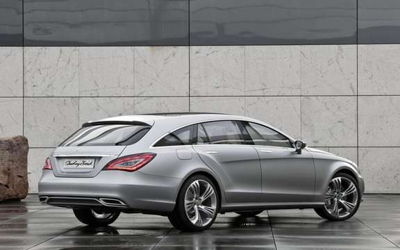 Mercedes-Benz CLS Shooting Brake Production for picture #2