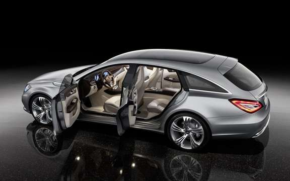 Mercedes-Benz CLS Shooting Brake Production for picture #3