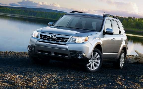 Subaru Canada unveils prices Forester 2011 range picture #1