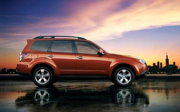 2011 Subaru Forester: New engine and new equipment