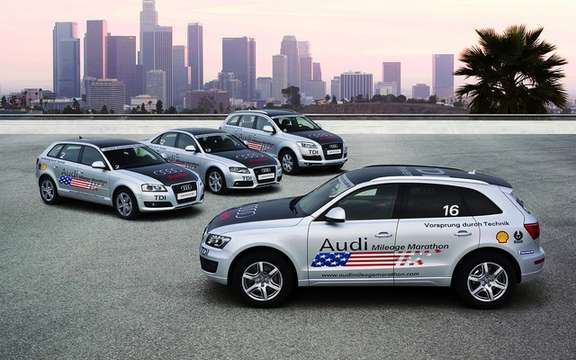 Audi will quadruple the supply of diesel models in America
