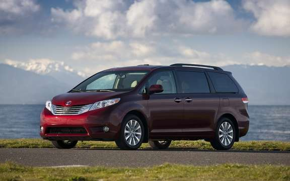 2011 Toyota Sienna: Best new van 2011