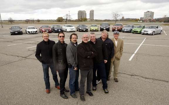The Canadian Automotive Jury - the top 12 vehicles for 2011