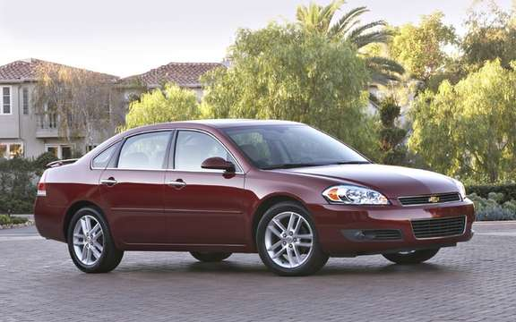 Chevrolet Impala 2009 and 2010: A simple reminder