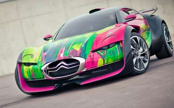Citroen Survolt Concept: Version