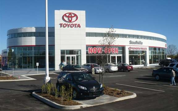 Stouffville Toyota is aiming for LEED certification